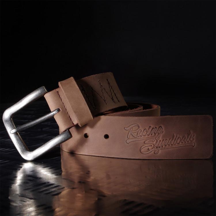 Kožený pásek Racing Syndicate