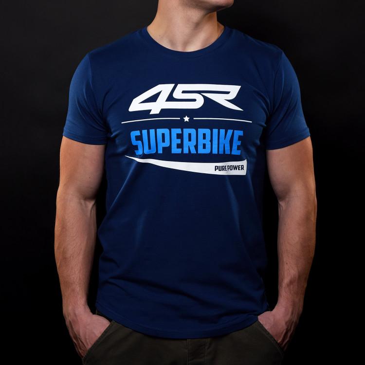 Tričko Superbike Blue