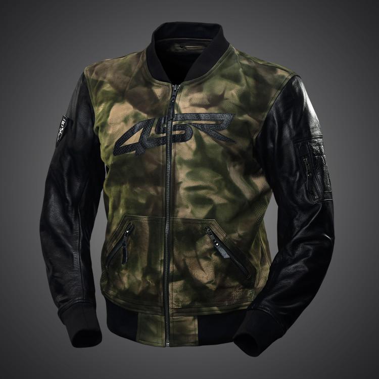 4SR Camo Bomber jacket 1