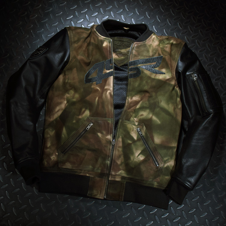 4SR Camo Bomber jacket motorcycle clothing