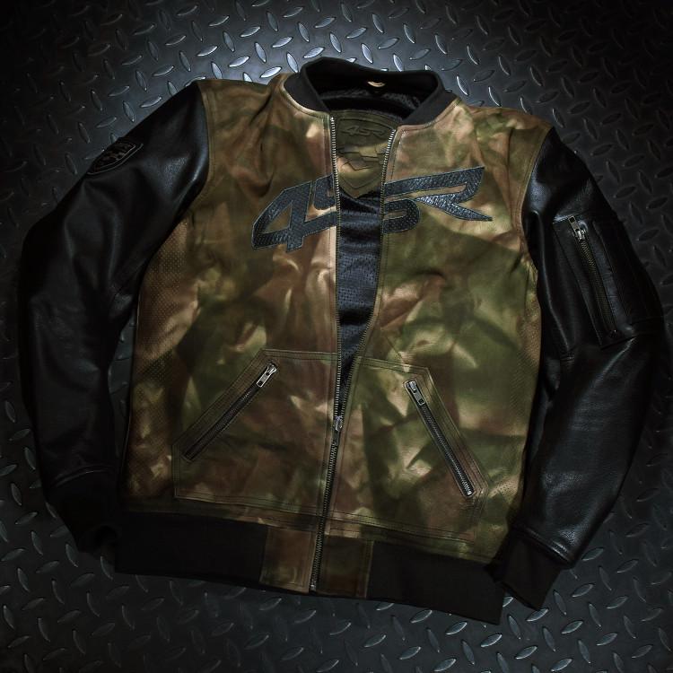 4SR Camo Bomber jacket motorcycle clothing