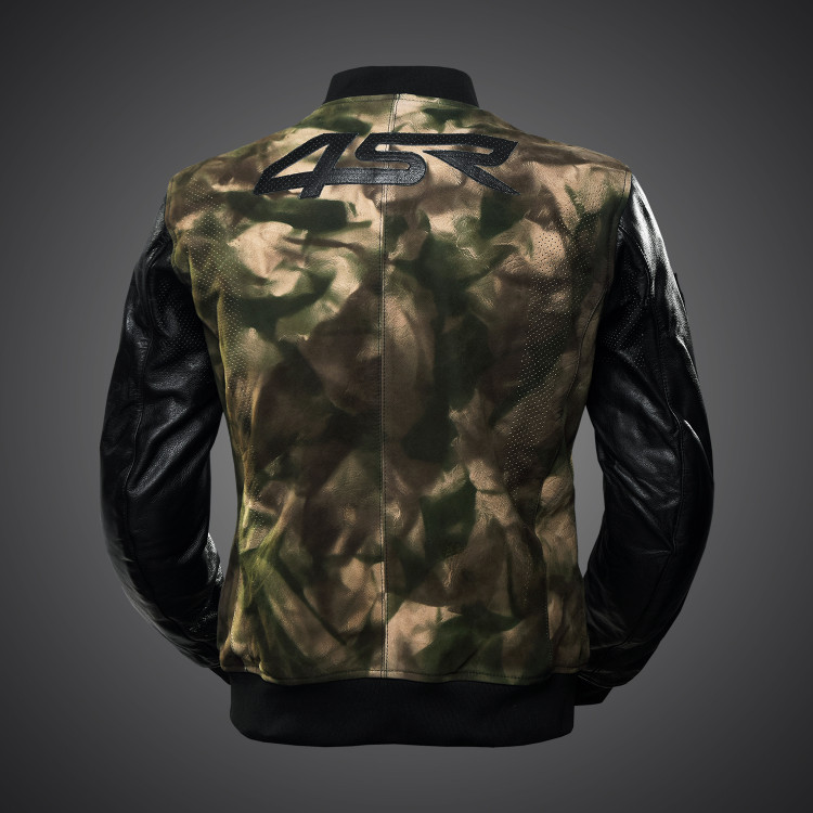 4SR Camo Bomber jacket 2