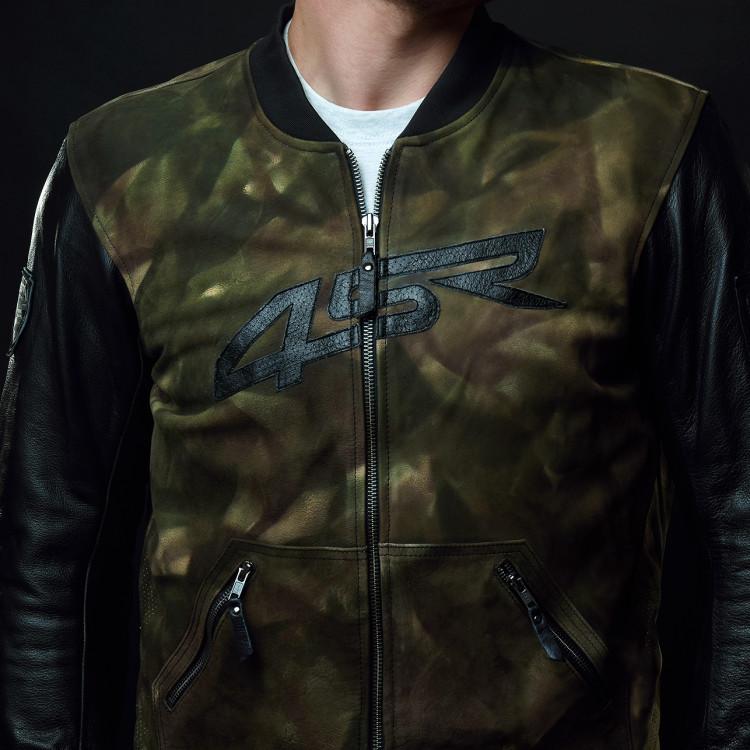4SR Camo Bomber jacket