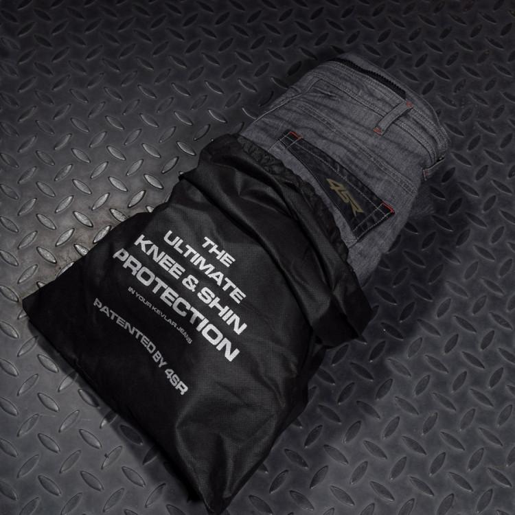 4SR Cool Grey kevlar jeans 6