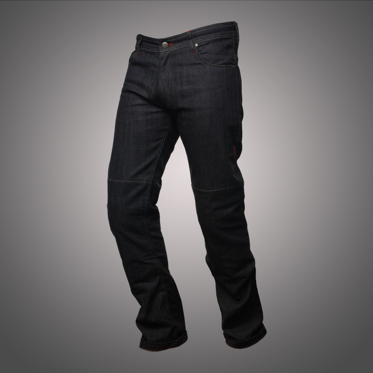4SR motorcycle jeans Cool Black 1