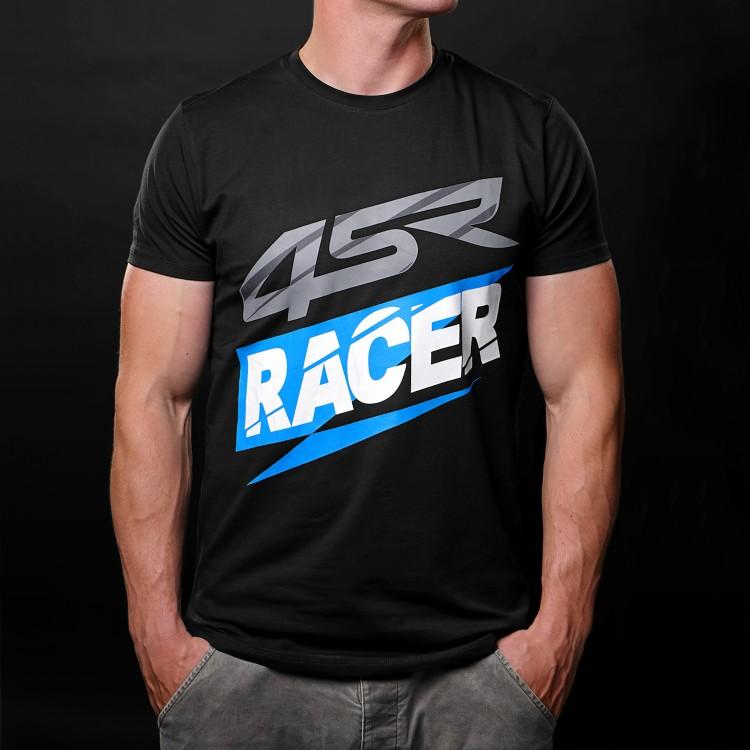 4SR tričko Racer Black
