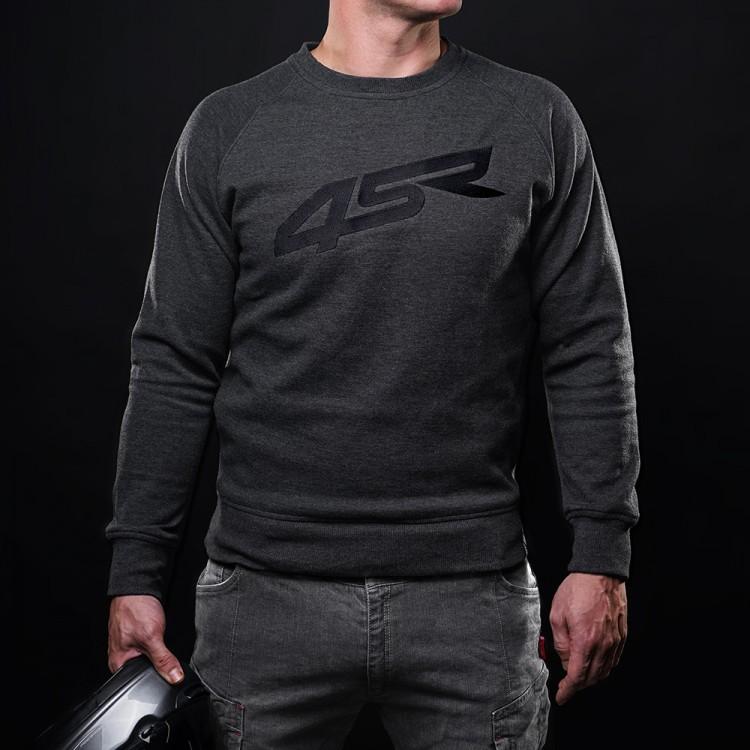 4SR motocyklové oblečení - Kevlarová mikina Logo bez kapuce