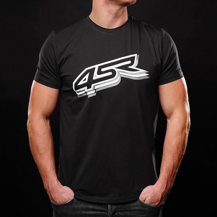 4SR motocyklové oblečení a doplňky - mikiny a trika 4SR z kolekce 2021 - triko Logo Black