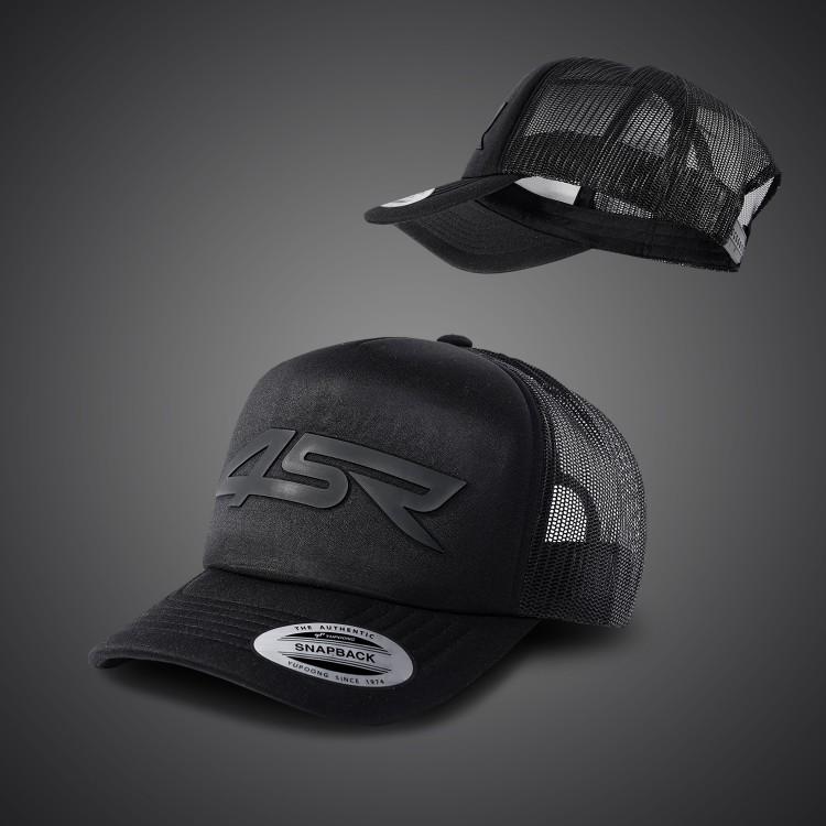 4SR motocyklové oblečení a doplňky - mikiny a trika 4SR z kolekce 2021 - kšiltovka Black Series