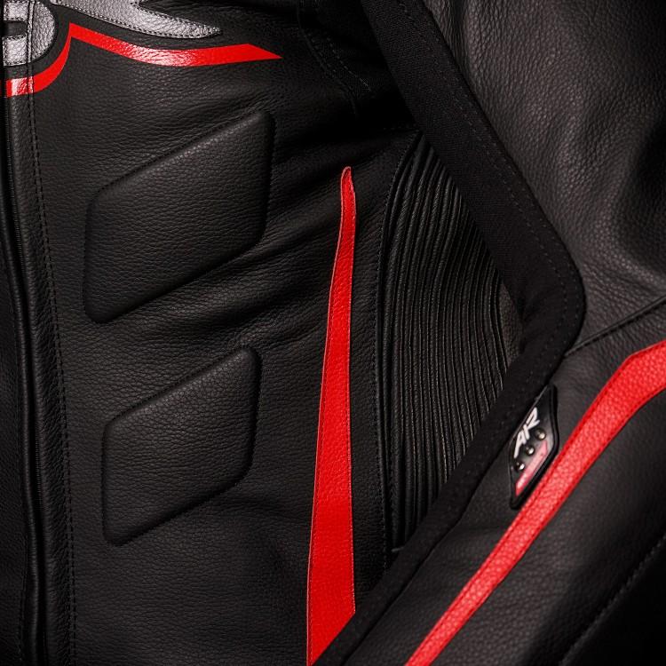 4SR motocyklové oblečení a doplňky - Dvoudílná kombinéza na airbag RR Evo III Diablo AR
