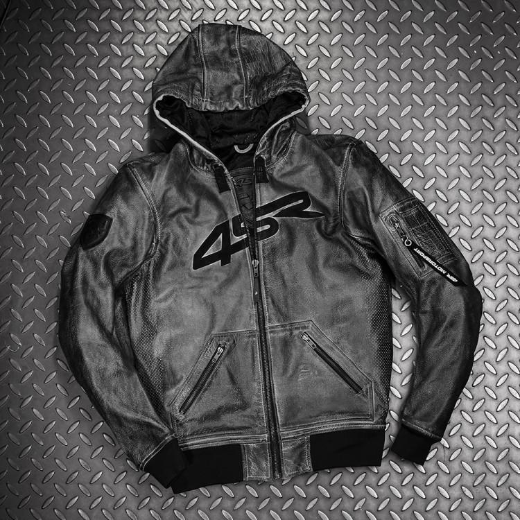 4SR motocyklové oblečení a doplňky - Hoodie Jacket bunda na motorku s kapucí