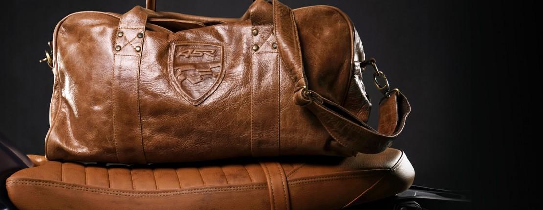 4SR kožené cestovní tašky na víkend