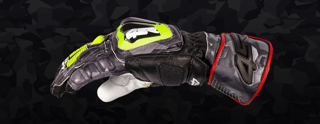 4SR motocyklové oblečení a doplňky - Závodní rukavice Stingray Race Spec Camo