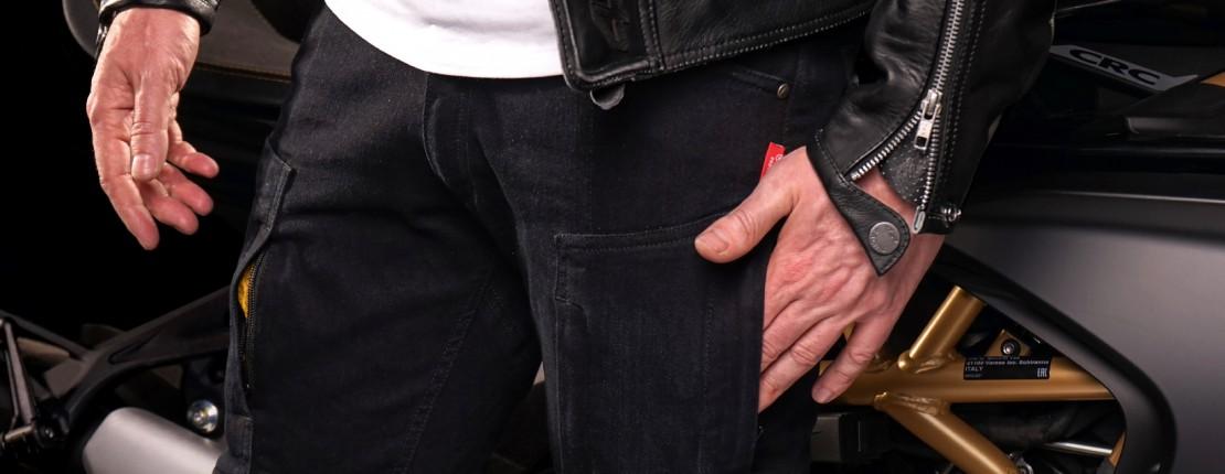Kevlarové kalhoty Club Sport Sky Black - novinka na léto od 4SR