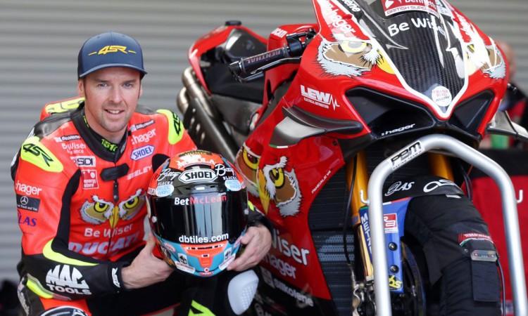 Kvalitní motocyklové oblečení 4SR - Alastair Seeley